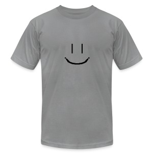 Smiley - Men's T-Shirt by American Apparel