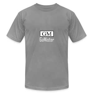 gamister_shirt_design_1_back - Men's Fine Jersey T-Shirt