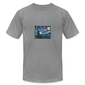 Starry Night Drone - Men's Fine Jersey T-Shirt