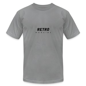 Retro Modules - sans frame - Men's T-Shirt by American Apparel
