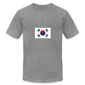 Flag of South Korea - Men's T-Shirt by American Apparel