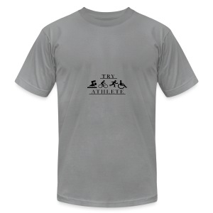 TRY ATHLETE - Men's Fine Jersey T-Shirt