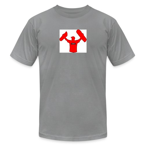 haybro gone wild logo - Men's Fine Jersey T-Shirt