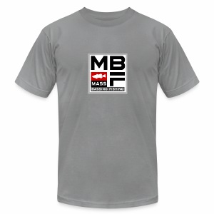 Mass Bassing Fishing - Men's T-Shirt by American Apparel