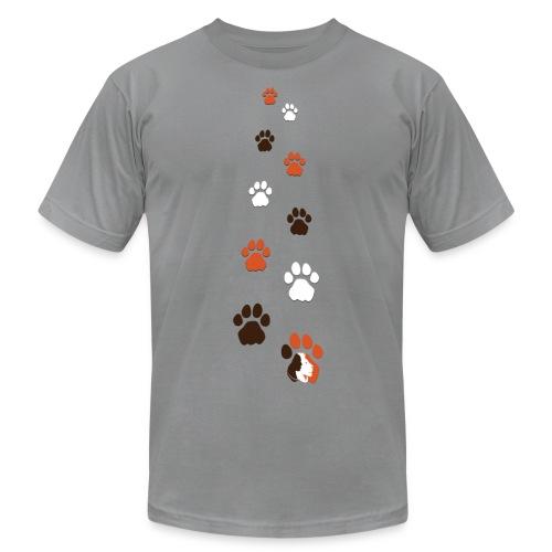Lion Guardian Paws - Men's Fine Jersey T-Shirt