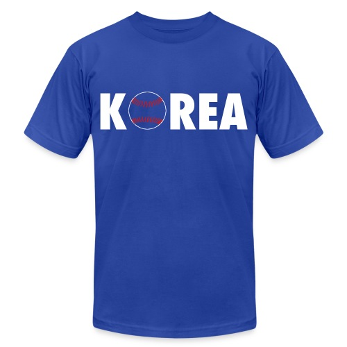 Korea - Unisex Jersey T-Shirt by Bella + Canvas