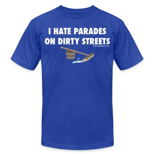 13 Parades white lettering - Unisex Jersey T-Shirt by Bella + Canvas