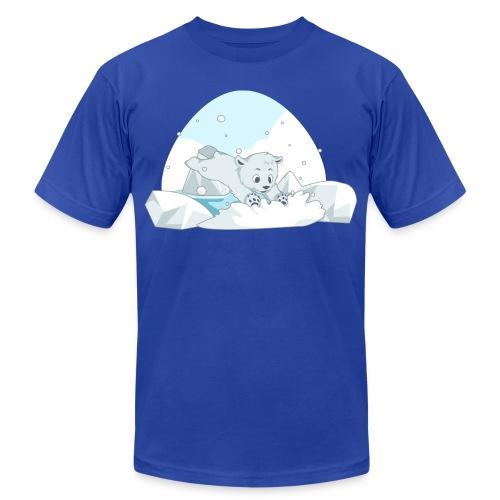 Polar Bear - Unisex Jersey T-Shirt by Bella + Canvas