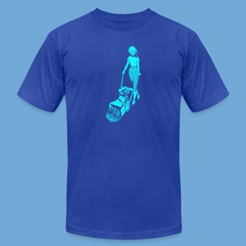 Roto-Hoe Cyan. - Men's  Jersey T-Shirt