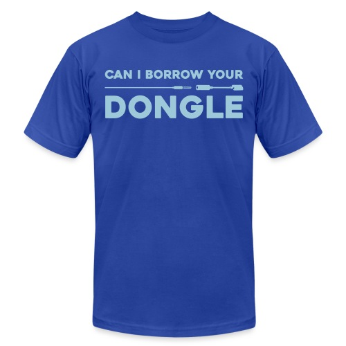 dongle - Unisex Jersey T-Shirt by Bella + Canvas