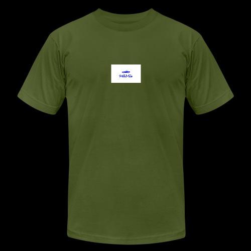 Blue 94th mile - Men's  Jersey T-Shirt