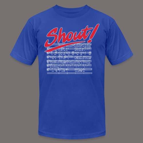 Shout - Unisex Jersey T-Shirt by Bella + Canvas