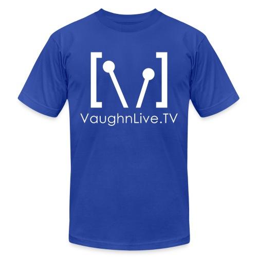 VaughnLive TV Logo - Unisex Jersey T-Shirt by Bella + Canvas