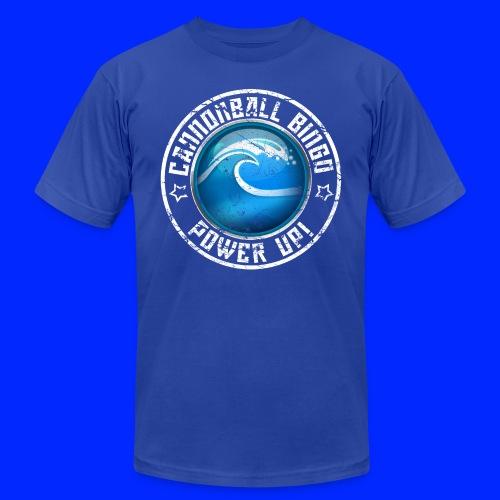 Vintage Tsunami Power-Up Tee - Unisex Jersey T-Shirt by Bella + Canvas