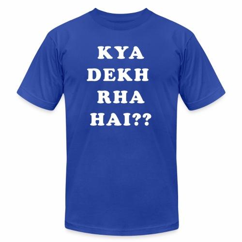 Kya Dekh Raha Hai - Men's  Jersey T-Shirt