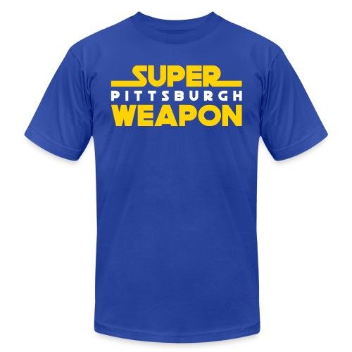 super weap - Unisex Jersey T-Shirt by Bella + Canvas