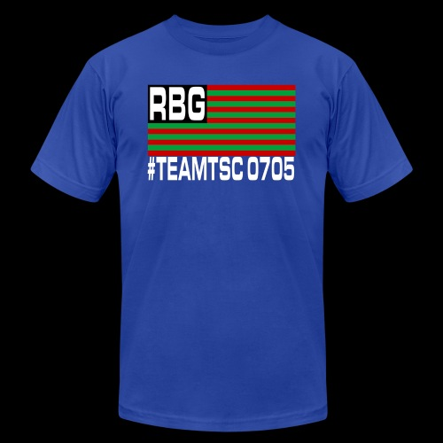 TeamTSC RBGFlag 2 - Unisex Jersey T-Shirt by Bella + Canvas