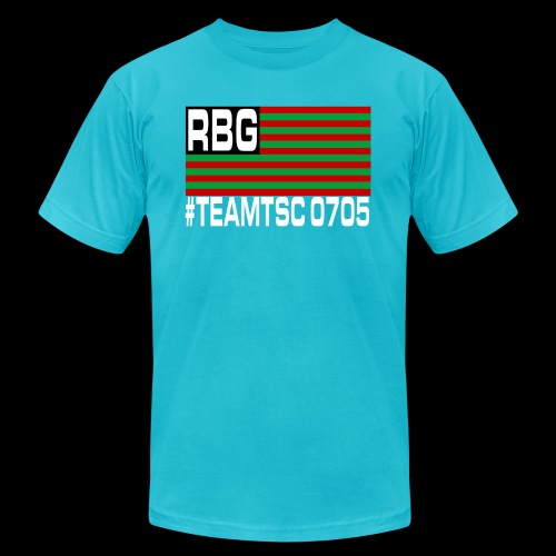 TeamTSC RBGFlag 2 - Unisex Jersey T-Shirt by Bella + Canvas