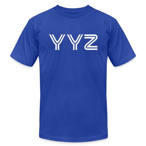 YYZ-White - Unisex Jersey T-Shirt by Bella + Canvas