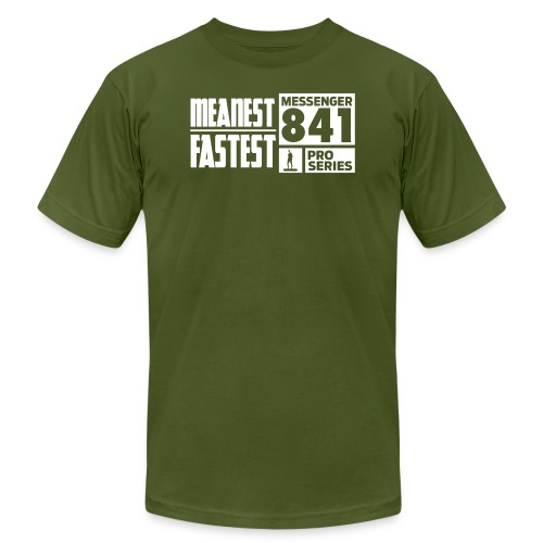 Messenger 841 Meanest and Fastest Crew Sweatshirt - Unisex Jersey T-Shirt by Bella + Canvas