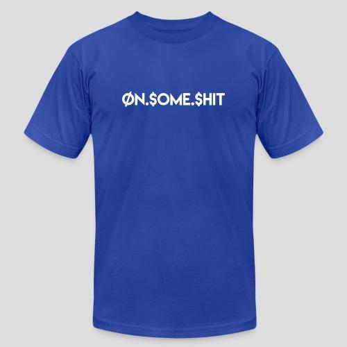 ON SOME SHIT Logo (White Logo Only) - Men's  Jersey T-Shirt