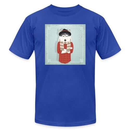 Hispter Dog - Men's  Jersey T-Shirt