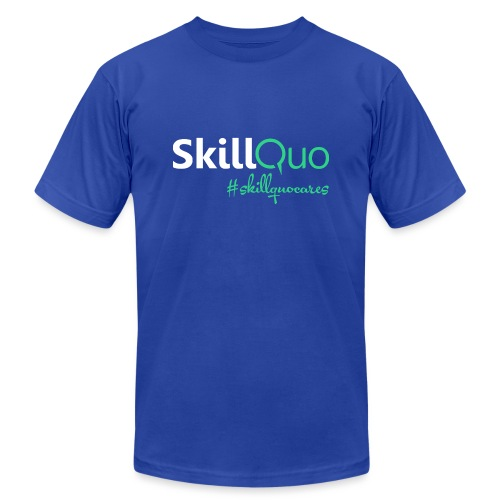 #skillquocares - Unisex Jersey T-Shirt by Bella + Canvas