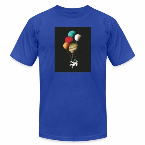 Space fly - Unisex Jersey T-Shirt by Bella + Canvas
