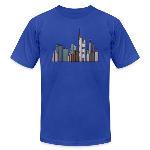 Frankfurt skyline - Unisex Jersey T-Shirt by Bella + Canvas