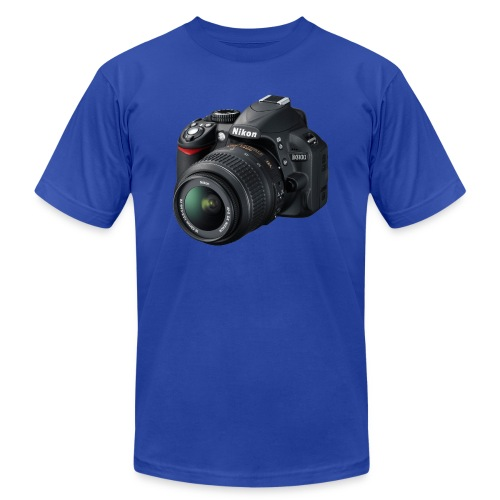 photographer - Unisex Jersey T-Shirt by Bella + Canvas