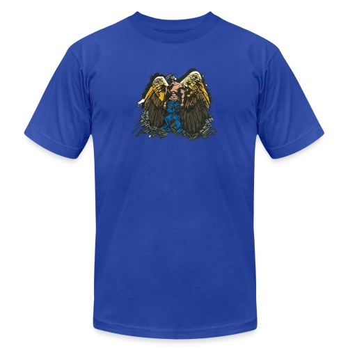 Angel - Unisex Jersey T-Shirt by Bella + Canvas