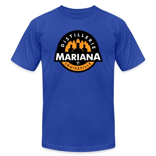 Distillerie Mariana Manche 3/4 - Unisex Jersey T-Shirt by Bella + Canvas