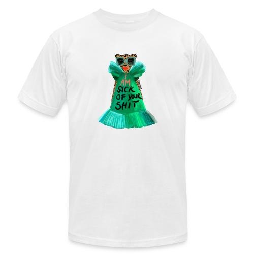 Sick Of It - Unisex Jersey T-Shirt by Bella + Canvas