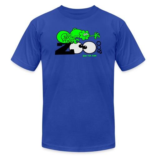Deep heather Chameleon Zoo&co Women's T-Shirts - Men's Jersey T-Shirt