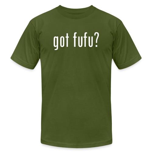 gotfufu-black - Unisex Jersey T-Shirt by Bella + Canvas