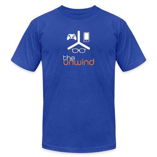 The Unwind (Orange) - Unisex Jersey T-Shirt by Bella + Canvas