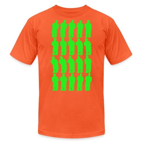 Green Smoke Smoke - Unisex Jersey T-Shirt by Bella + Canvas