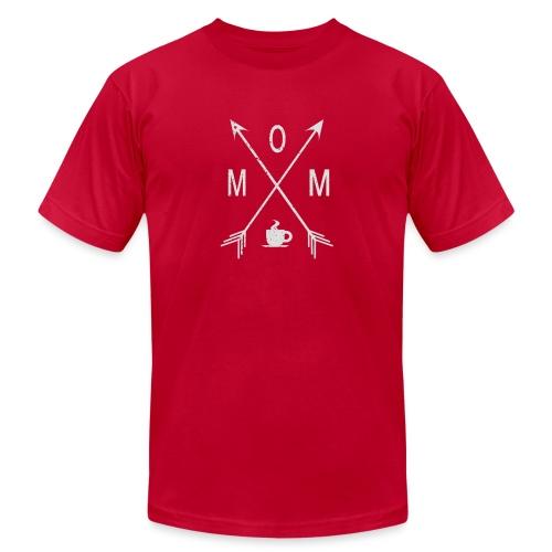 Mom Loves Coffee - Men's Jersey T-Shirt