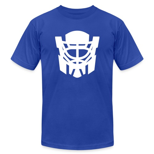 optimus reim crest - Unisex Jersey T-Shirt by Bella + Canvas