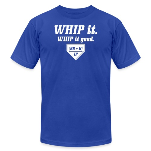 WHIP it good. (BB + H) / IP - Unisex Jersey T-Shirt by Bella + Canvas