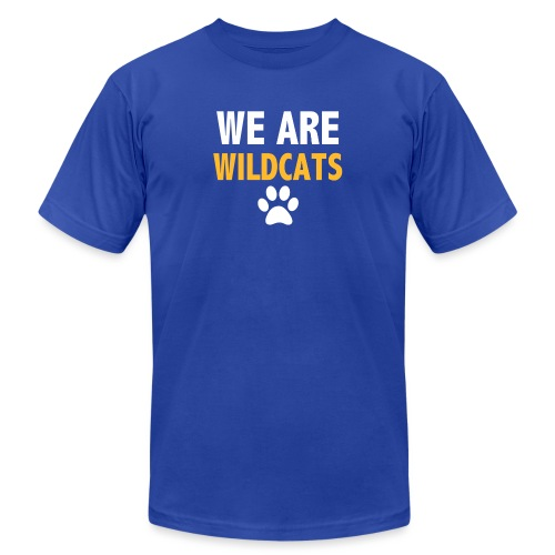 We Are Wildcats - Unisex Jersey T-Shirt by Bella + Canvas