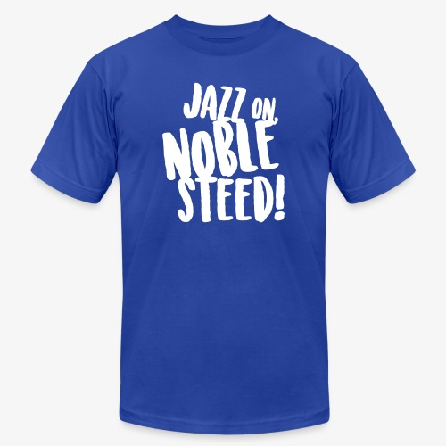 MSS Jazz on Noble Steed - Unisex Jersey T-Shirt by Bella + Canvas