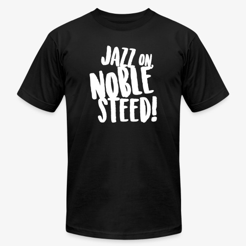 MSS Jazz on Noble Steed - Men's  Jersey T-Shirt