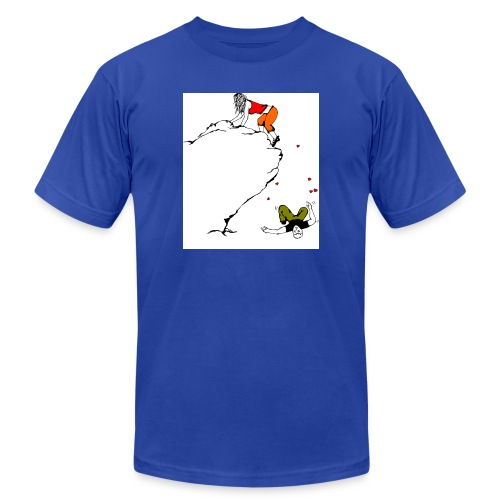 Lady Climber - Unisex Jersey T-Shirt by Bella + Canvas