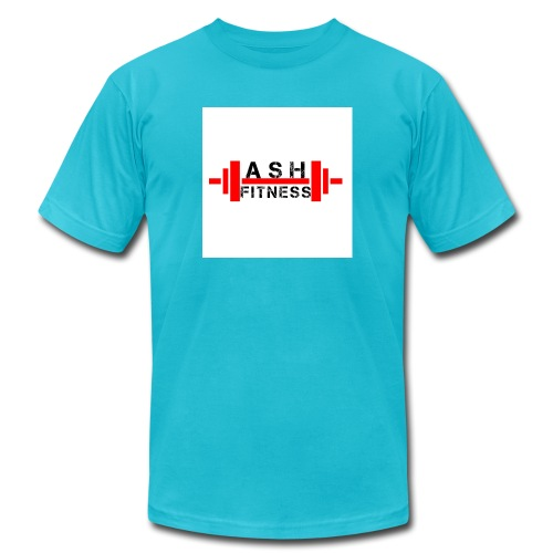 ASH FITNESS MUSCLE ACCESSORIES - Men's  Jersey T-Shirt