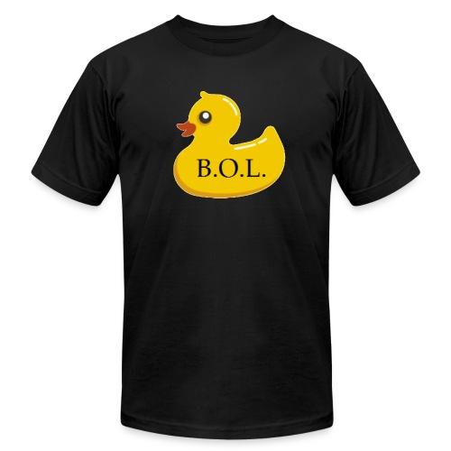 Official B.O.L. Ducky Duck Logo - Men's Jersey T-Shirt