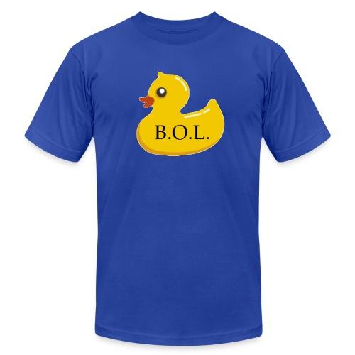 Official B.O.L. Ducky Duck Logo - Unisex Jersey T-Shirt by Bella + Canvas