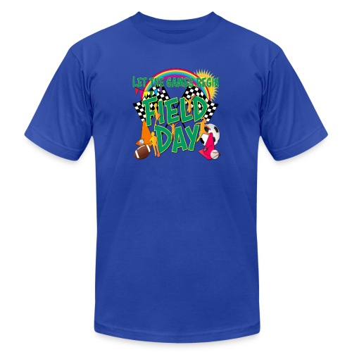 Field Day Games for SCHOOL - Unisex Jersey T-Shirt by Bella + Canvas