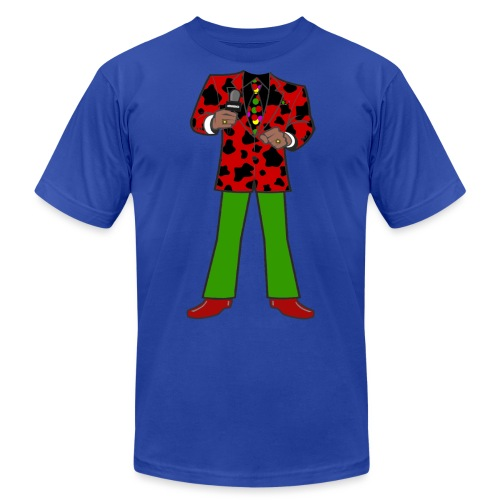 The Red Cow Suit - Unisex Jersey T-Shirt by Bella + Canvas
