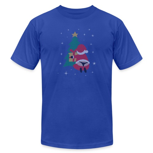 Ugly Christmas Sweater String Thong Santa - Unisex Jersey T-Shirt by Bella + Canvas